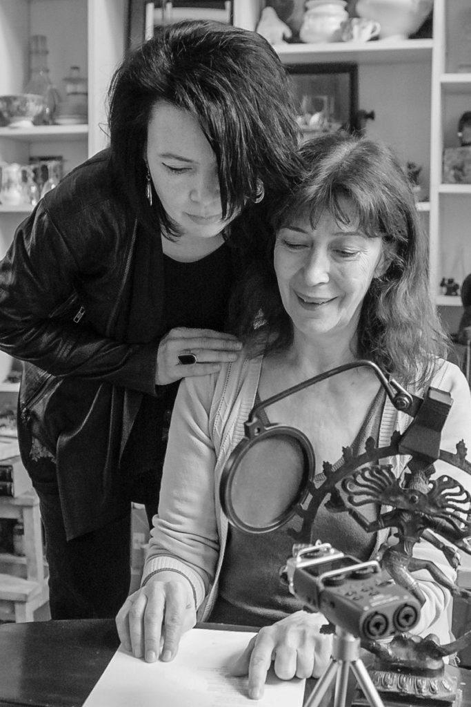 Laurine ROUSSELET et Anne ALVARO 28 février 2019
